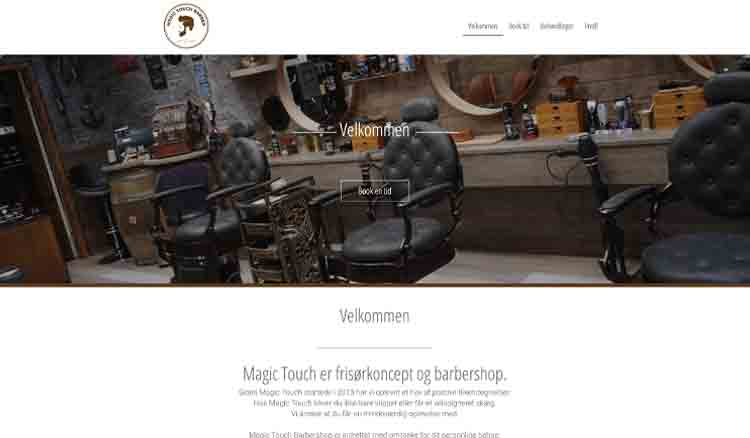 Magic Touch's Webseite